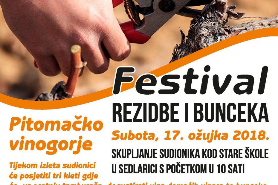plakat festival rezidbe i bunceka 2018