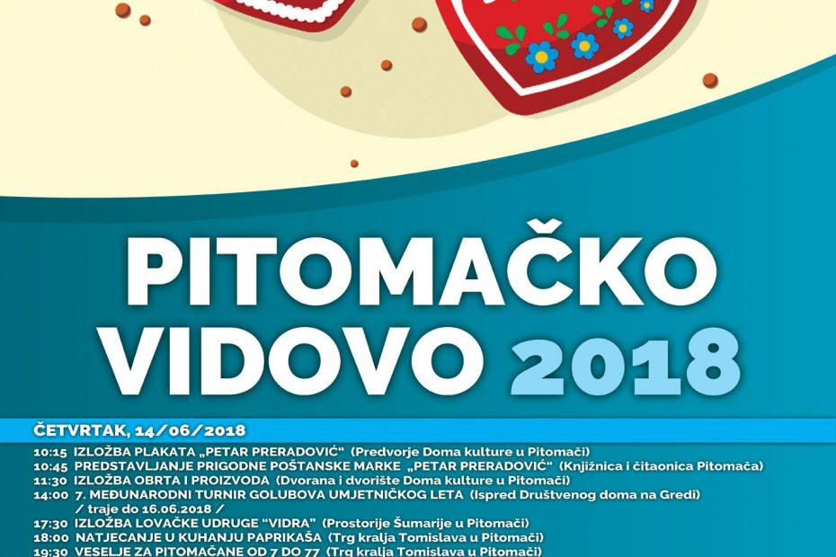 plakat pitomacko vidovo 2018.